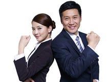 Gens d'affaires asiatiques Image libre de droits