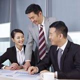 Gens d'affaires asiatiques Photographie stock