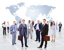Gens d'affaires attirants Images stock