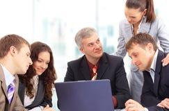 Gens d'affaires au bureau Image stock