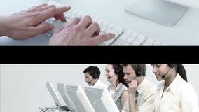 Gens d'affaires au travail banque de vidéos