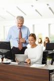 Gens d'affaires avec la tablette Image stock