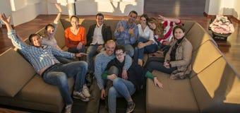 Gens d'affaires d'équipe sur la réunion Photos libres de droits