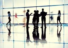 Gens d'affaires d'interaction de communication de concept de collègues photo libre de droits