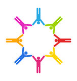 Gens d'affaires d'unité Image libre de droits