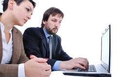 Gens d'affaires dans le bureau Image libre de droits
