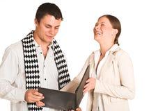 Gens d'affaires de #35 (FG) Image stock