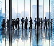 Gens d'affaires de communication corporate de concept de bureau image stock