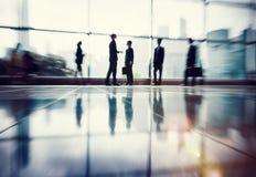 Gens d'affaires de communication de bureau de concept d'entreprise de travail image stock