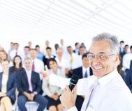 Gens d'affaires de directeur de concept de Meeting Office Working Image libre de droits