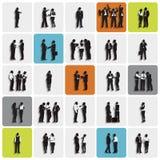 Gens d'affaires de discussion de concept fonctionnant professionnel d'association Photographie stock libre de droits