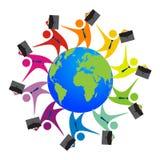 Gens d'affaires de diversité Images libres de droits