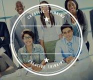 Gens d'affaires de diversité Team Corporate Professional Office Con images stock