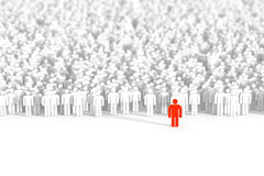 Gens d'affaires de fond Image libre de droits