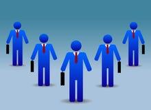 Gens d'affaires de groupe Image libre de droits