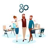 Gens d'affaires de groupe Team Workplace Office Teamwork illustration libre de droits