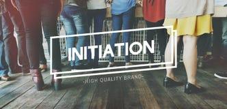 Gens d'affaires de Team Initiation Concept d'entreprise Photographie stock libre de droits