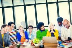 Gens d'affaires de Team Teamwork Cooperation Partnership Concept Image stock