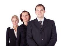 Gens d'affaires et équipe Image libre de droits