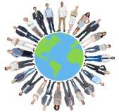 Gens d'affaires globaux de concept d'entreprise du monde Photographie stock libre de droits