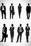 Gens d'affaires, illustration de vecteur Photographie stock libre de droits