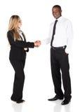 Gens d'affaires multiraciaux images stock