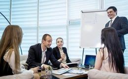 Gens d'affaires rencontrant le concept d'entreprise de discussion de conférence, Images libres de droits