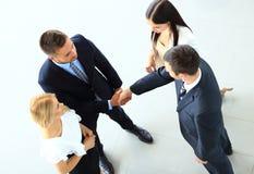 Gens d'affaires se serrant la main Photos libres de droits