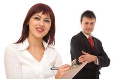 Gens d'affaires travaillant en équipe images libres de droits