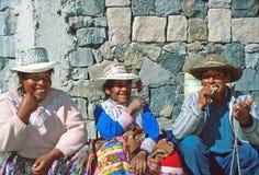 Gens d'Amerindian Images libres de droits