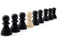 gens d'individu d'échecs Image libre de droits