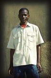 Gens de banlieue noire Photo stock