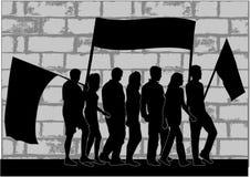 Gens de démonstration illustration libre de droits