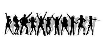 Gens de danse Images libres de droits