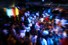 Gens de danse de disco Photos stock