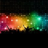 Gens de disco Photographie stock