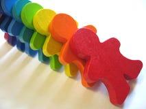 Gens de domino. Photos libres de droits