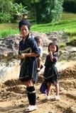 Gens de h'Mong de Sapa Vietnam Photographie stock