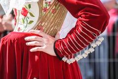 Gens de la Sardaigne image stock