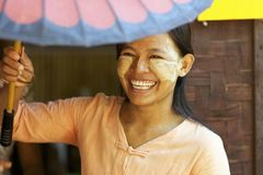 Gens de Myanmar Birmanie Images stock