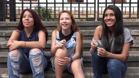 Gens de sourire Image libre de droits