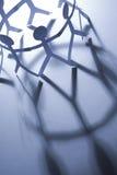 Gens et ombres de papier Photographie stock libre de droits