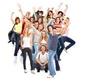 Gens heureux Image libre de droits