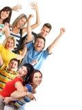 gens heureux Image stock
