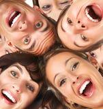 gens heureux Photo stock