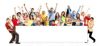 gens heureux drôles Photos libres de droits