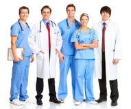 Gens médicaux de sourire photographie stock