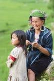 Gens tribals de côte au Vietnam Photographie stock