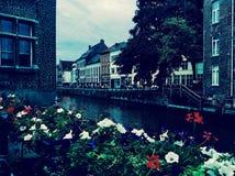 Gent's kanały Obraz Royalty Free