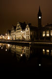 gent νύχτα Στοκ φωτογραφία με δικαίωμα ελεύθερης χρήσης